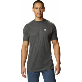 Mountain Hardwear Logo Camiseta Manga Corta Hombre, heather black